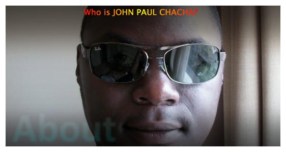 Who is John Paul Chacha?